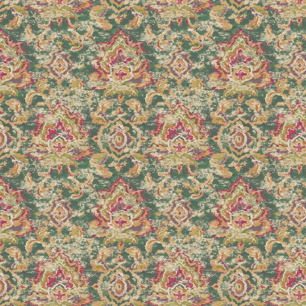 Eijffinger Sundari Damask Green Wallpaper - Product code: 375113