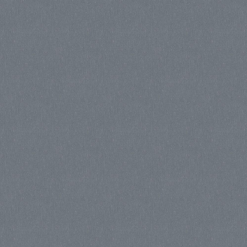 Linen Plain Wallpaper - Blueberry Ink - by Boråstapeter