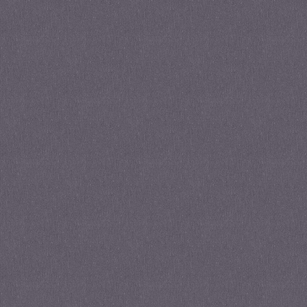 Linen Plain Wallpaper - Dark Plum - by Boråstapeter