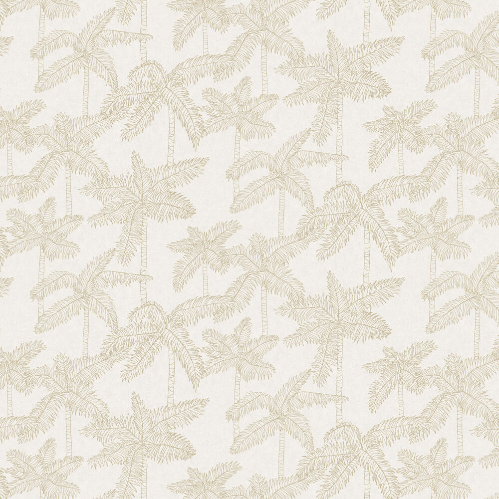 Eijffinger Palm Tree Metallic Gold Wallpaper - Product code: 384510