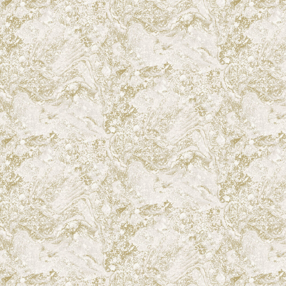 Infused Marble Wallpaper - Grey / Gold - by SK Filson