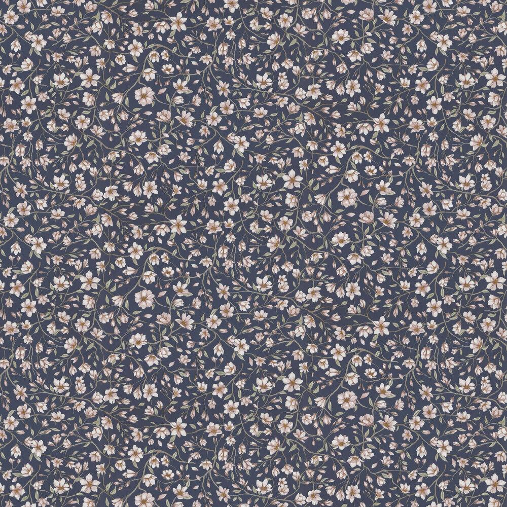 Sakura Wallpaper - Navy - by Sandberg