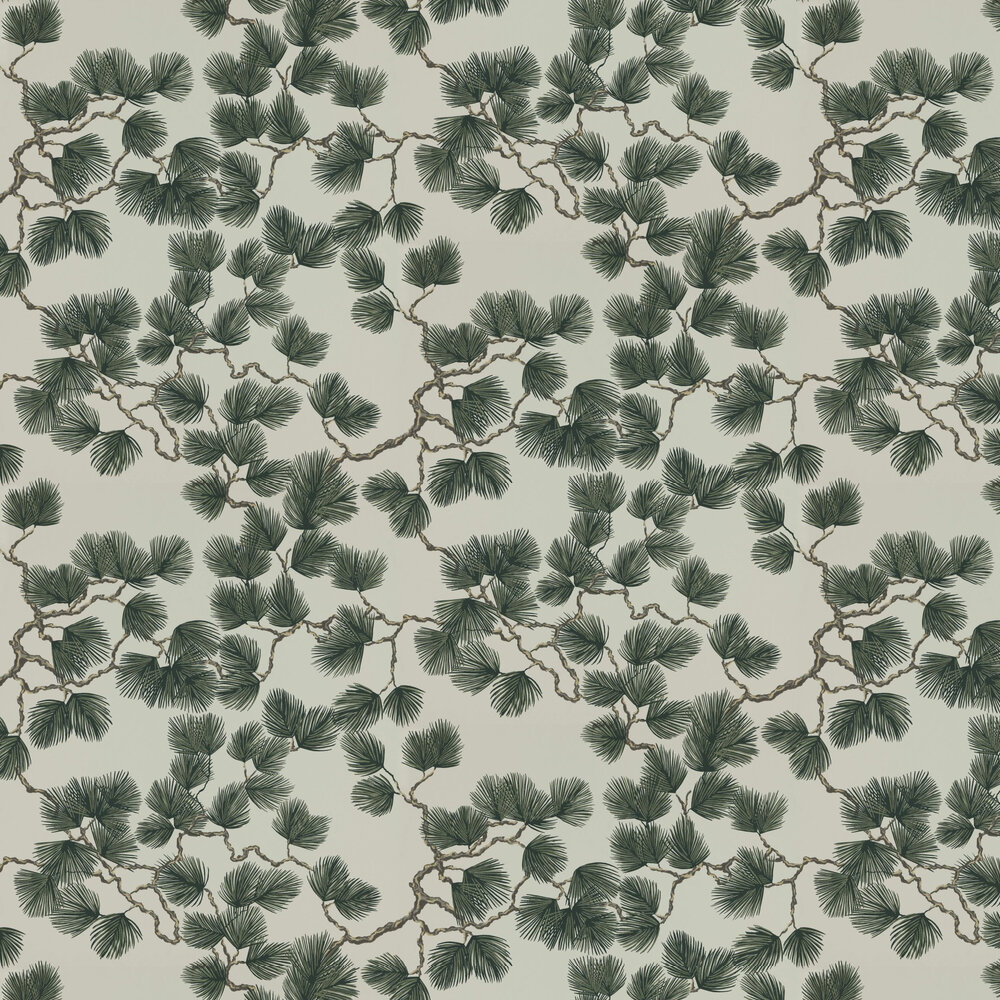 Sandberg Pine Green Wallpaper - Product code: 804-78