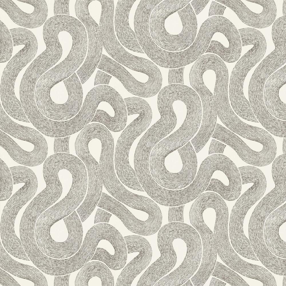 Zen Wallpaper - Grey / White - by Sandberg