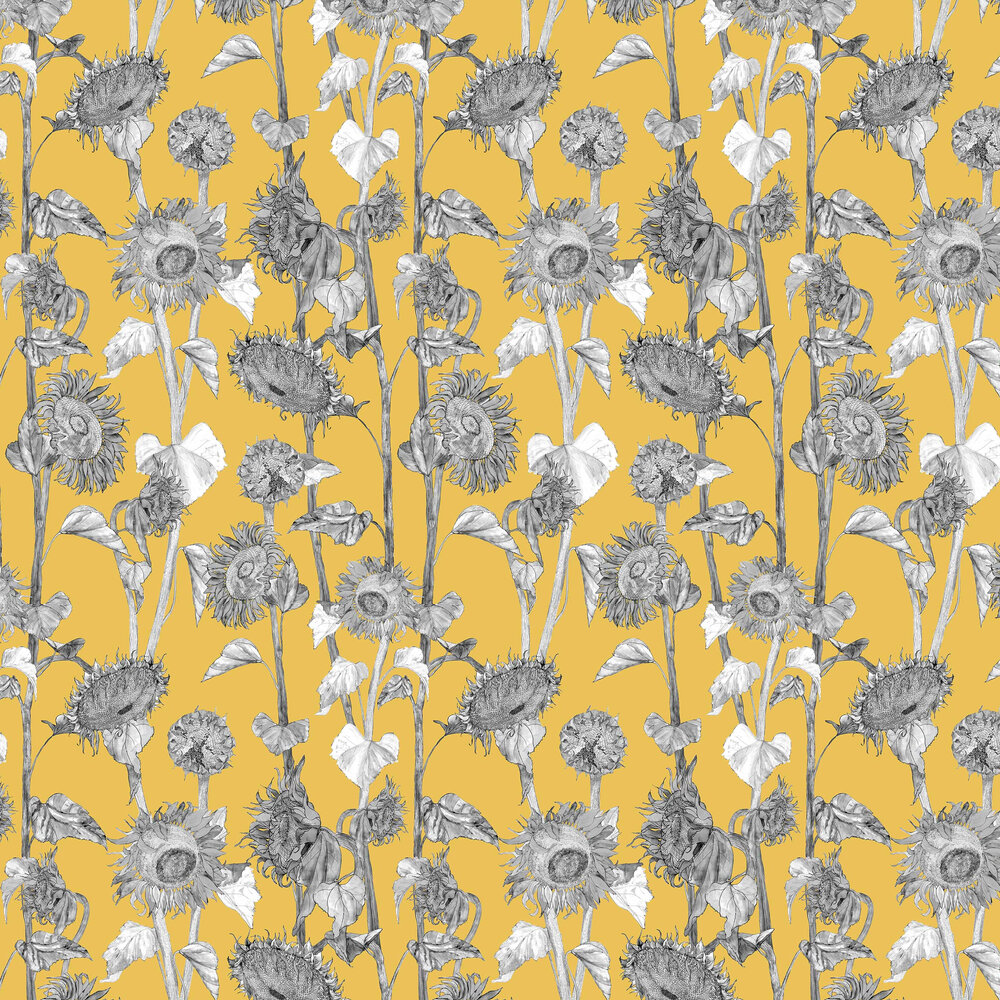 Petronella Hall Sunflowers Yellow Wallpaper - Product code: 11869