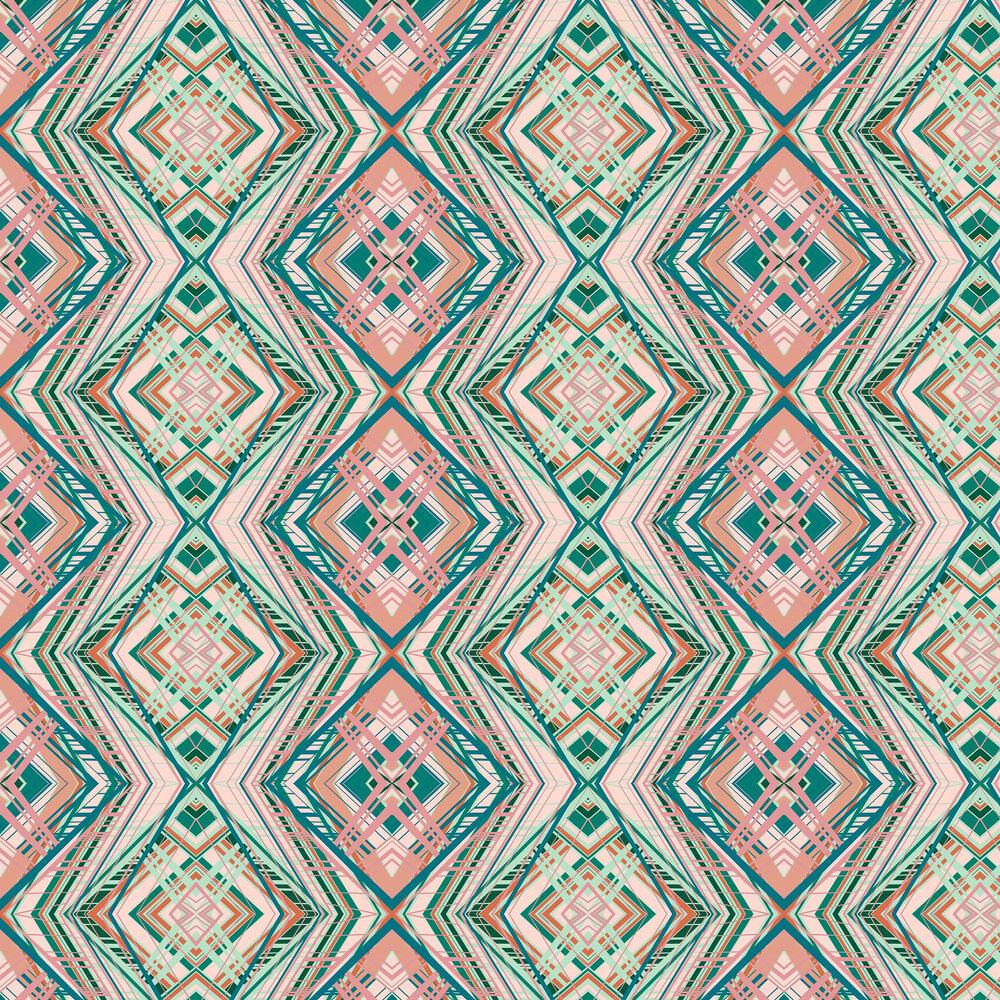 Petronella Hall Techno Pink Wallpaper - Product code: 11874