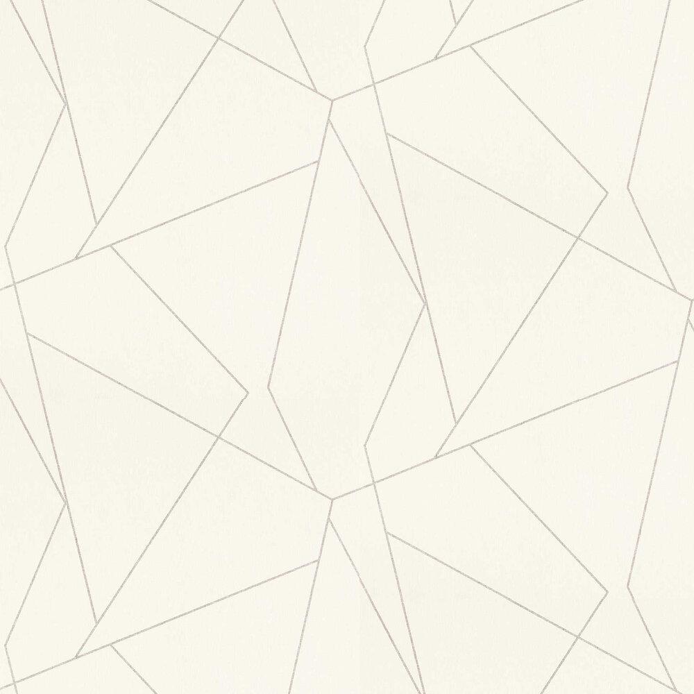 Parapet Wallpaper - Dove - by Harlequin