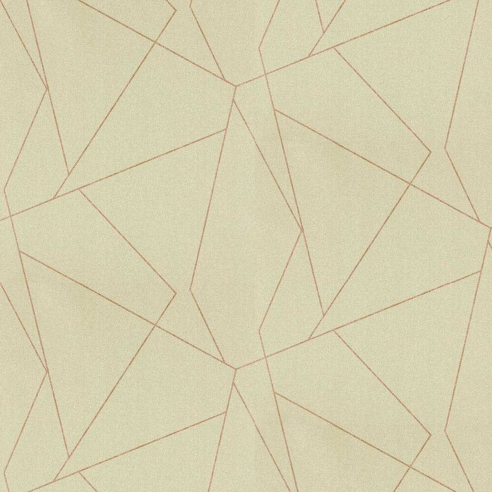 Parapet Wallpaper - Rose - by Harlequin