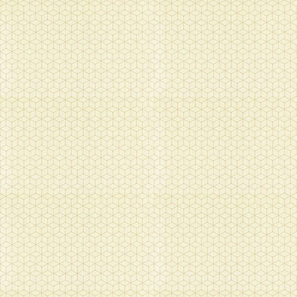Vault Wallpaper - Maize - by Harlequin
