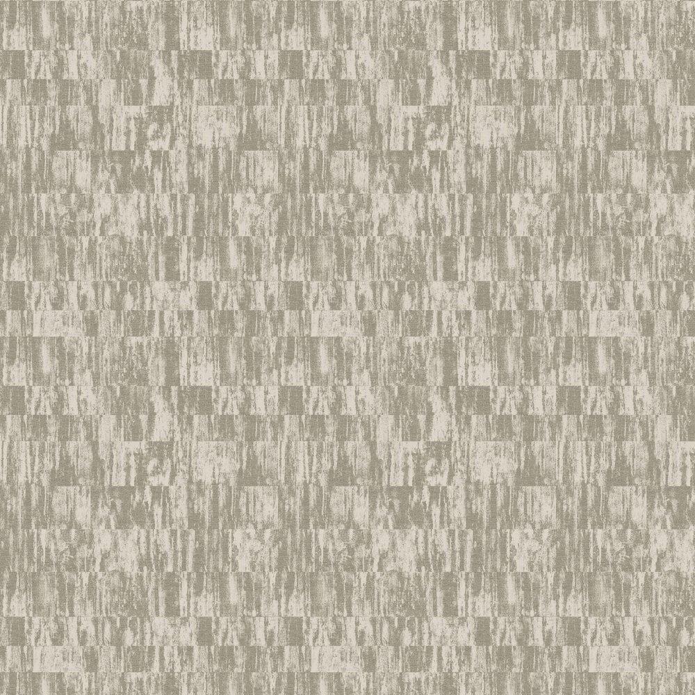 Distressed Linen Wallpaper - Champagne / Gold - by SketchTwenty 3