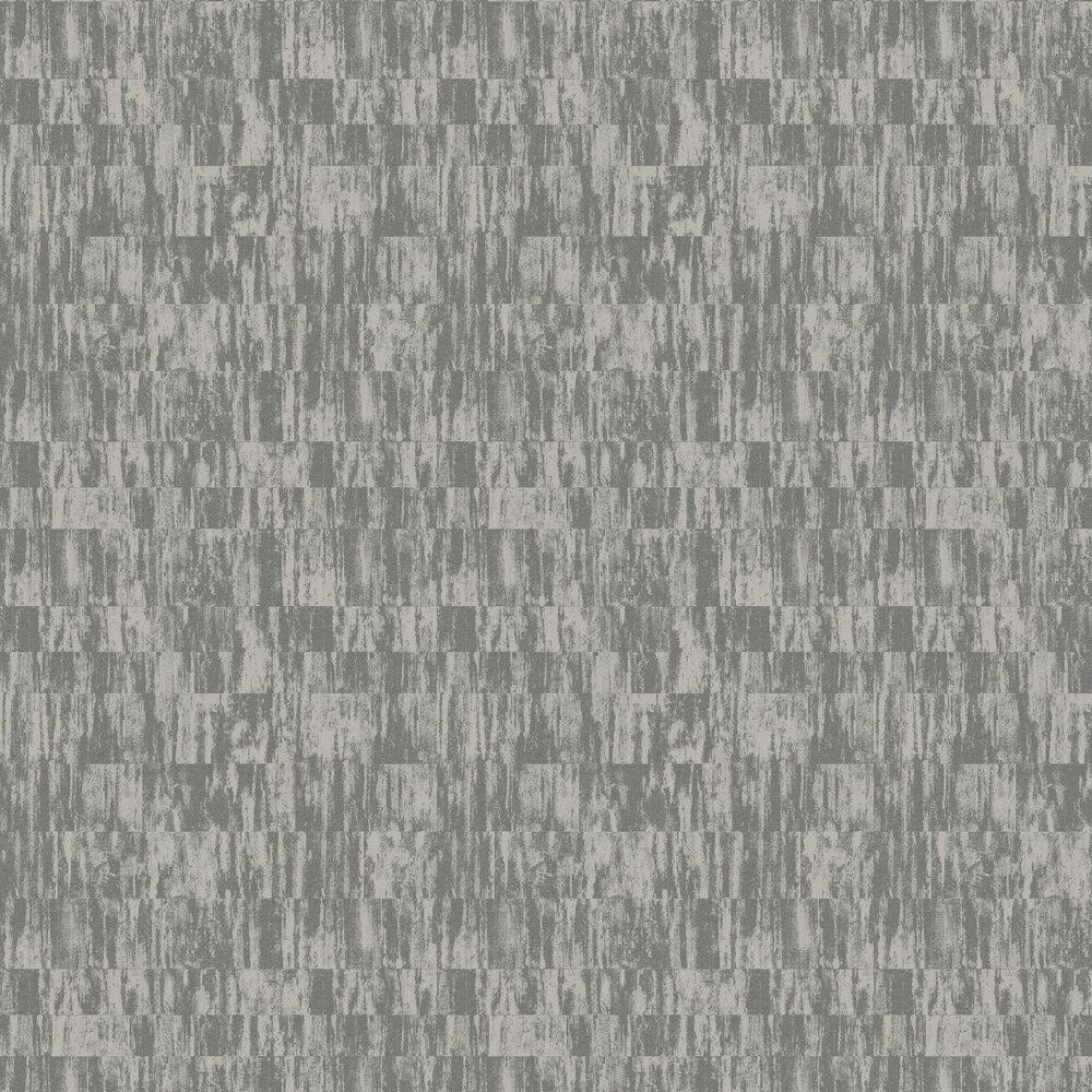 Distressed Linen Wallpaper - Blue Grey - by SketchTwenty 3