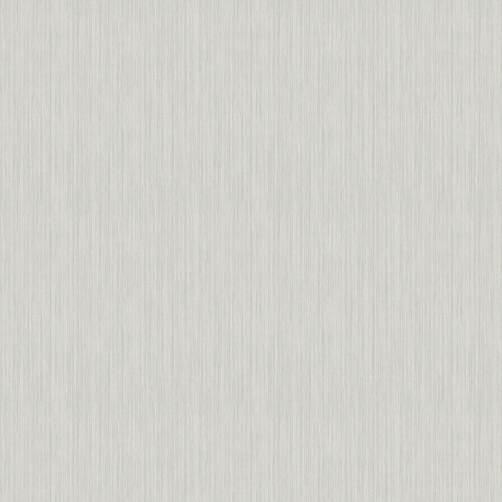 Gianni Plain Wallpaper - Silver - by Arthouse