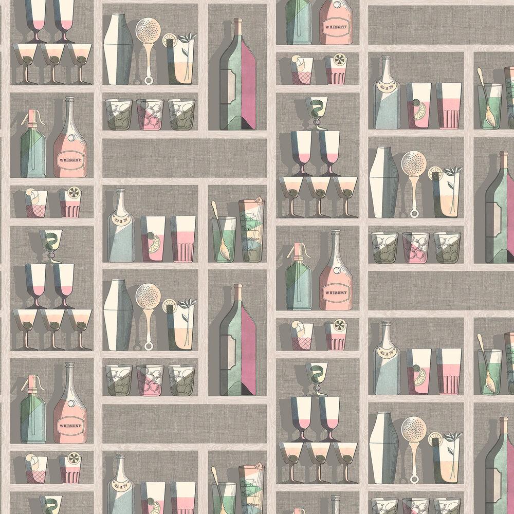 Cole & Son Cocktails Pastel Wallpaper - Product code: 114/23044