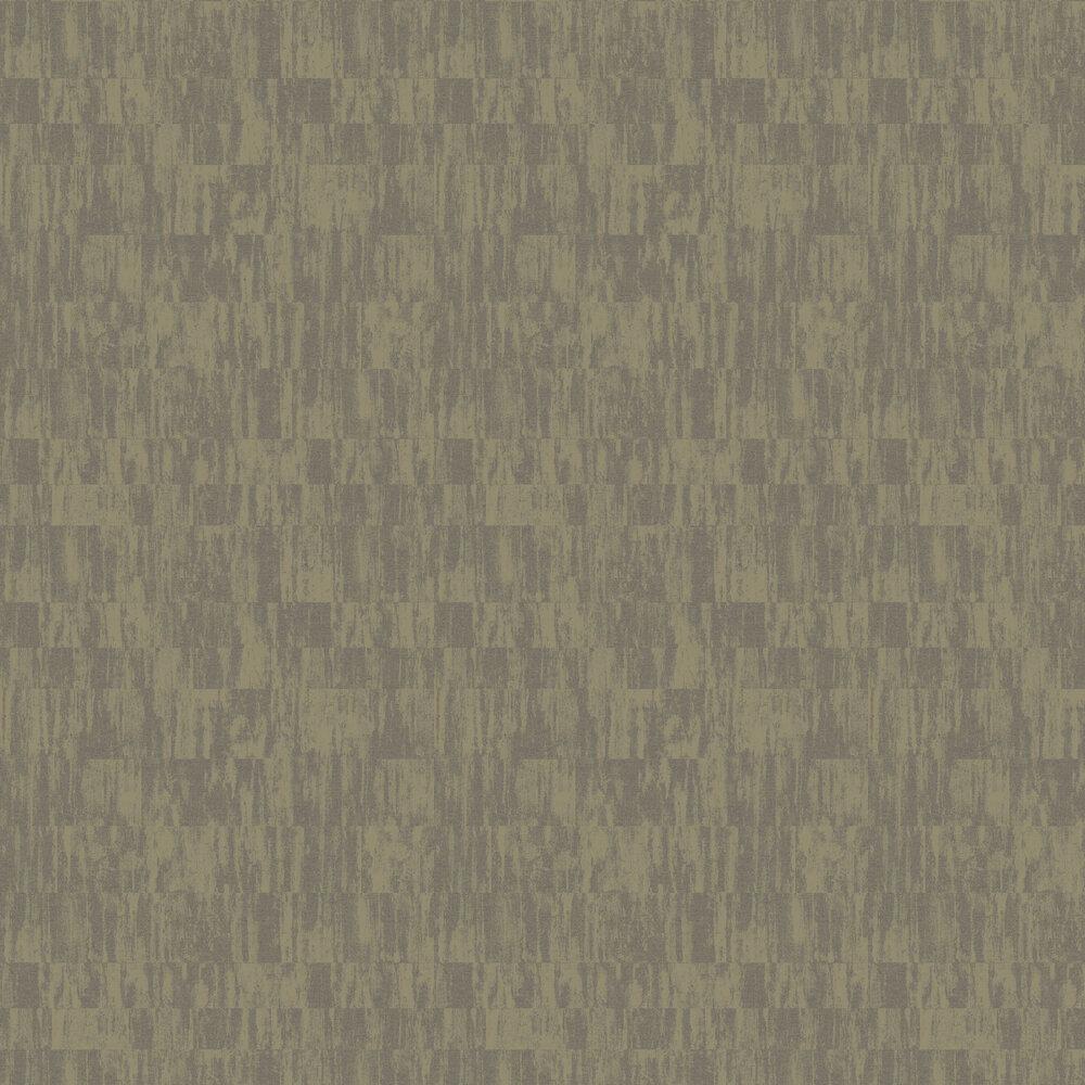 Distressed Linen Wallpaper - Antique Gold - by SketchTwenty 3