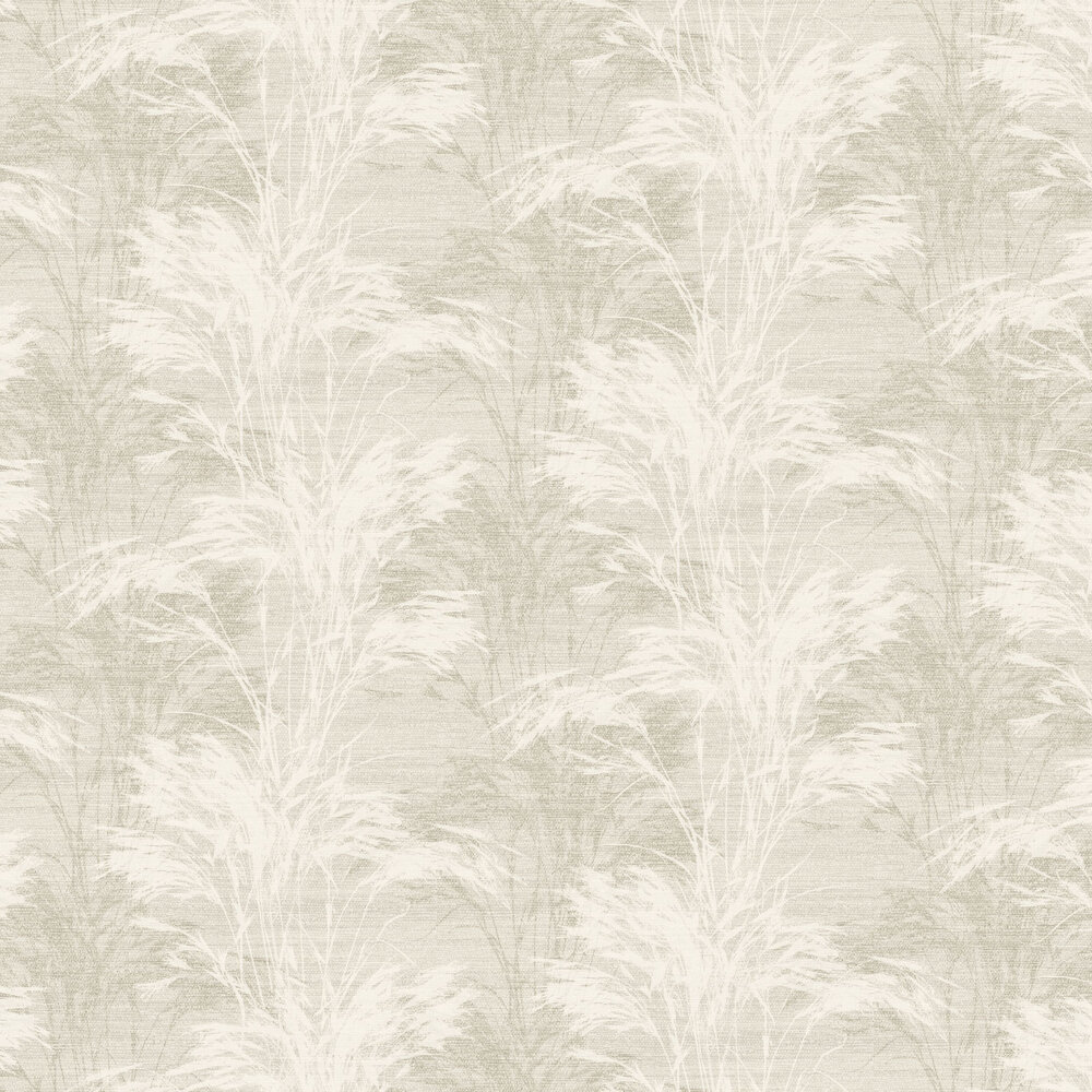 Grasses Wallpaper - Ivory - by SketchTwenty 3