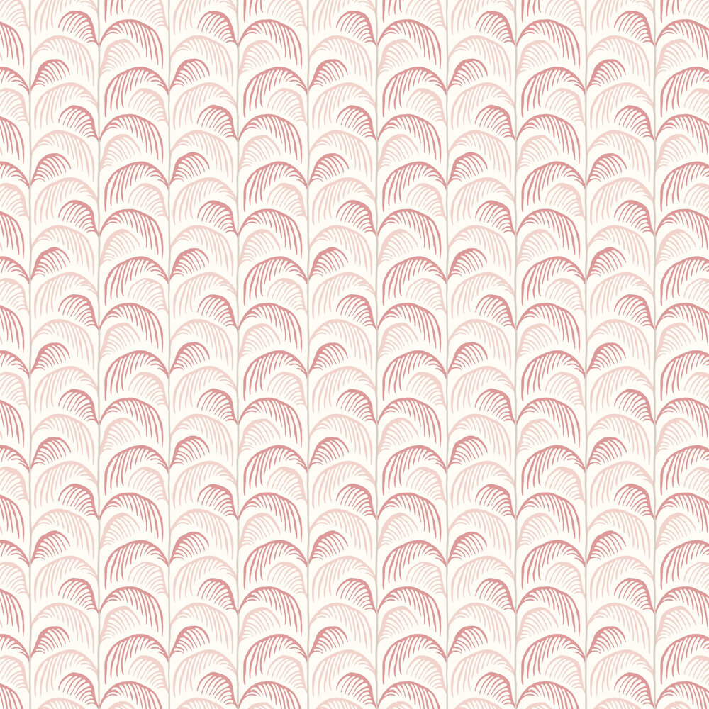Palm Wallpaper - Pink - by Eijffinger