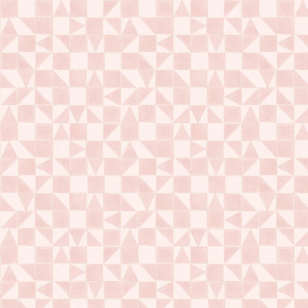 Geometric Wallpaper - Pink - by Eijffinger