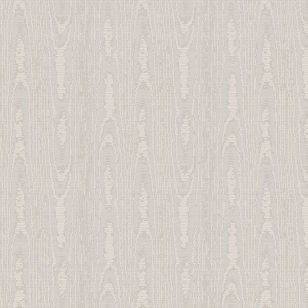 Moire Wallpaper - Champagne - by SketchTwenty 3