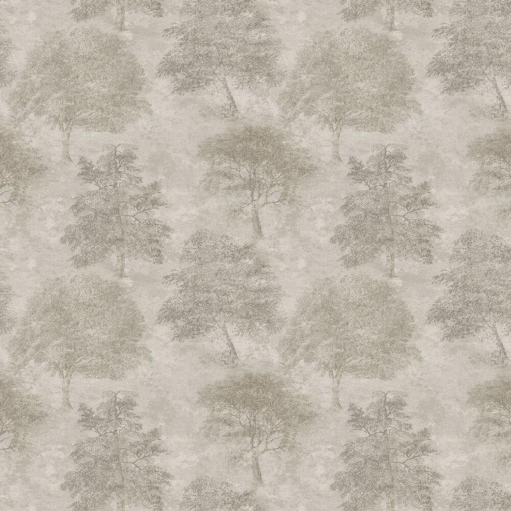 Sherwood Wallpaper - Brown / Beige - by SketchTwenty 3