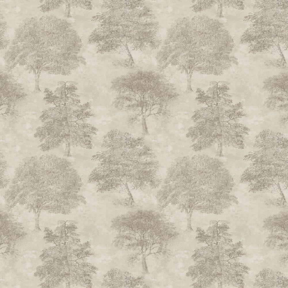 Sherwood Wallpaper - Light Gold - by SketchTwenty 3