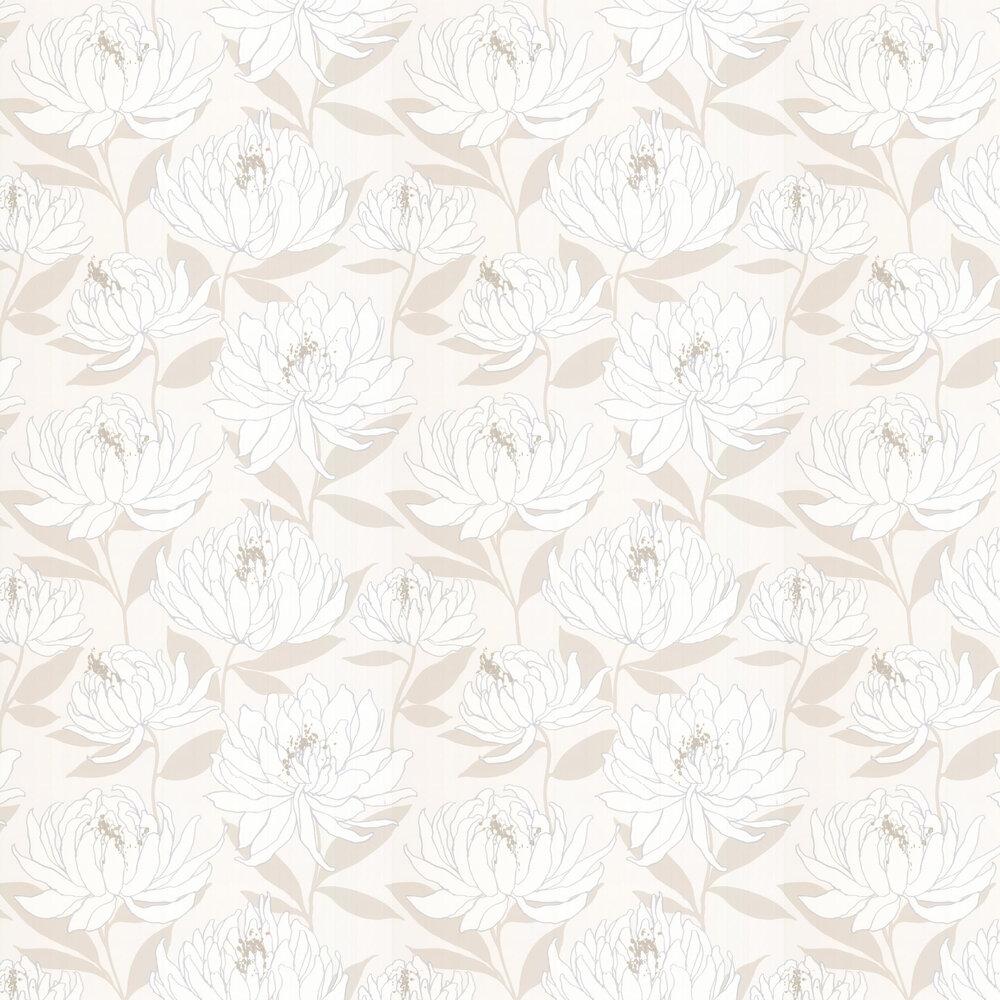Sebal Wallpaper - Glacier/ Silver - by Harlequin