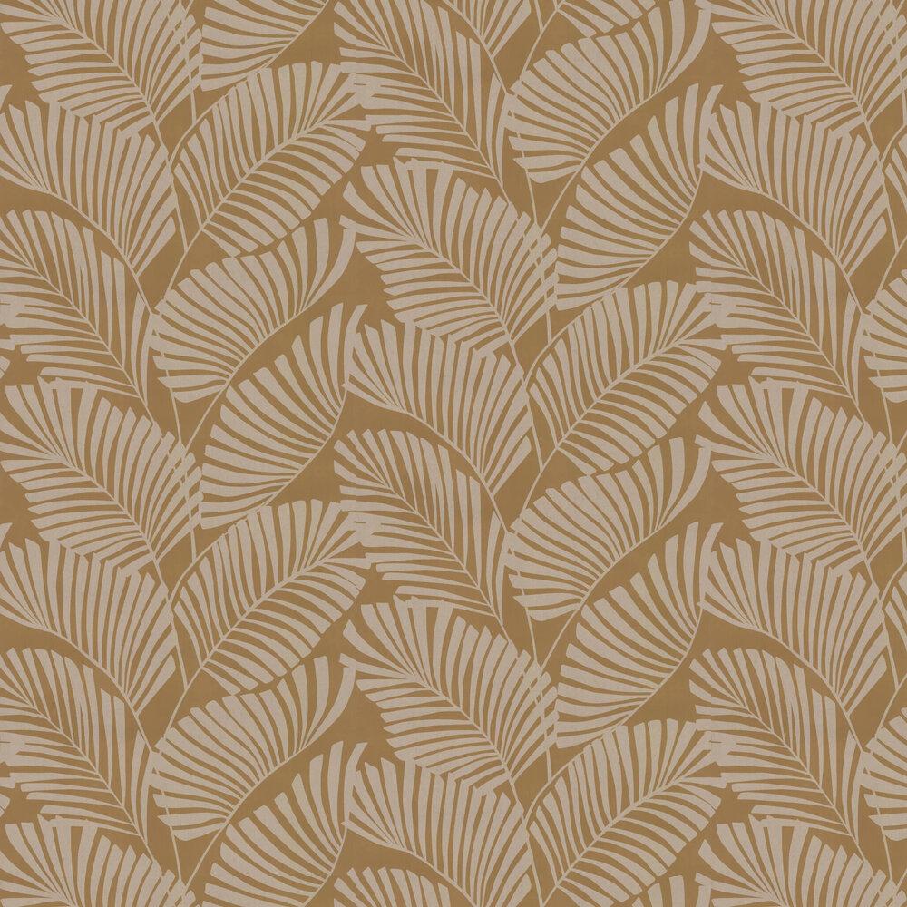 Mala Wallpaper - Ochre - by Harlequin