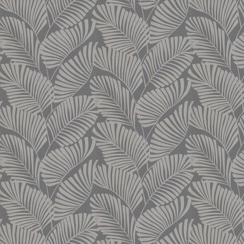 Mala Wallpaper - Slate - by Harlequin