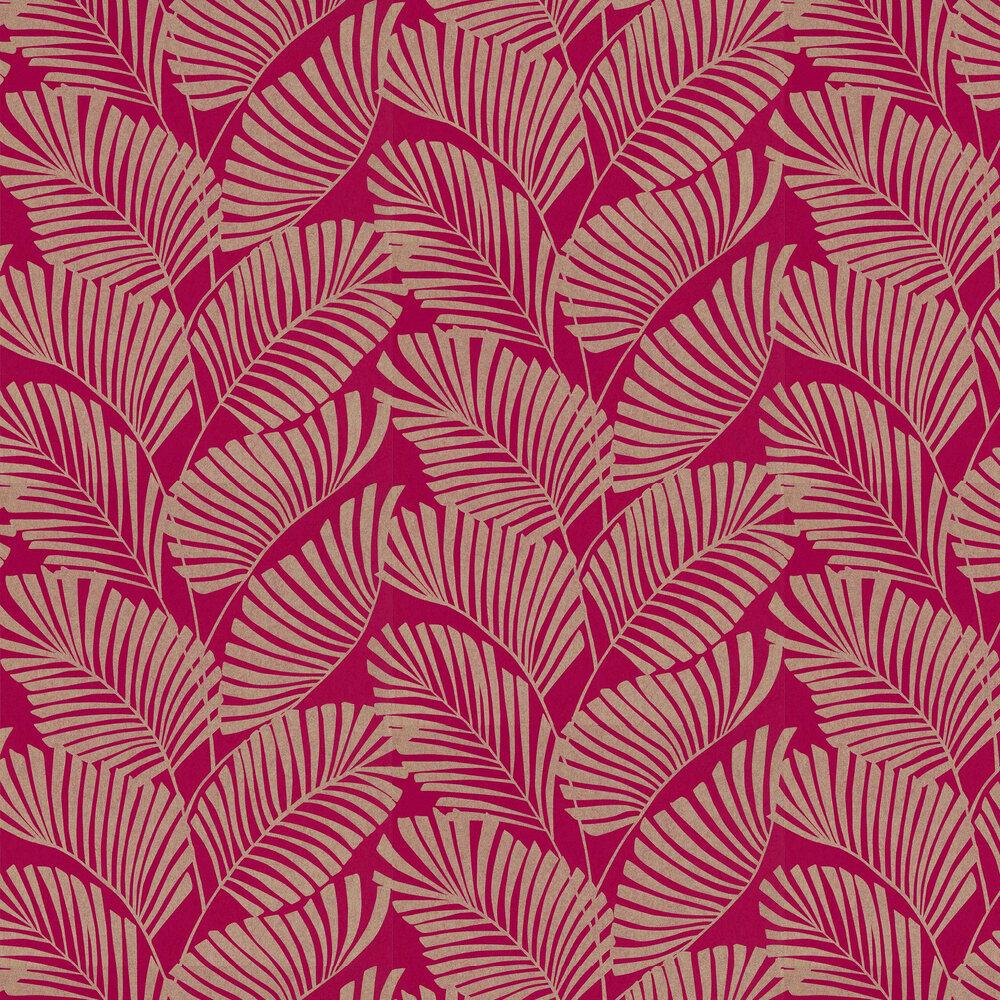 Mala Wallpaper - Azalea - by Harlequin