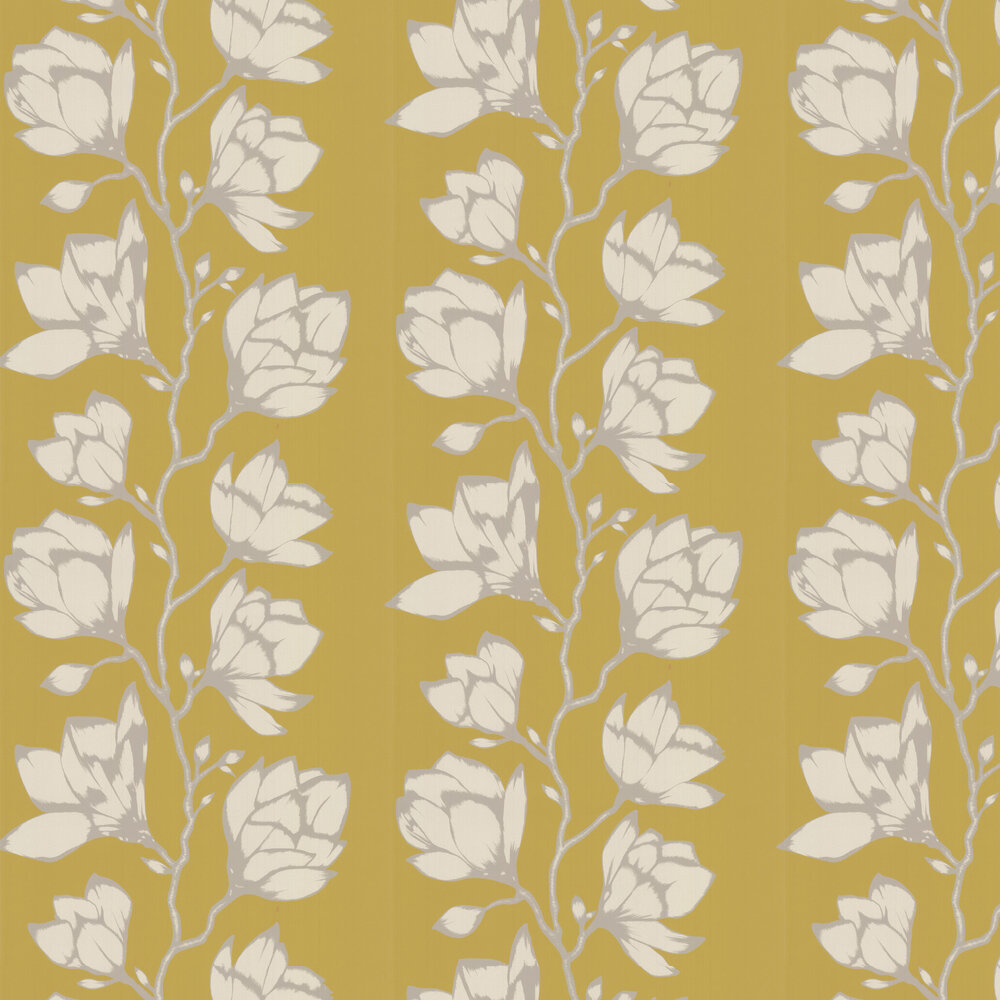 Lustica Wallpaper - Saffron - by Harlequin