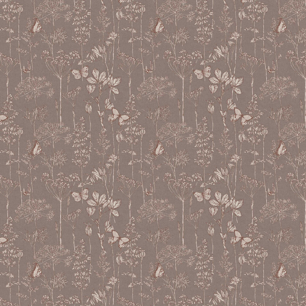 Arthouse Meadow Floral Chocolate Wallpaper - Product code: 904106