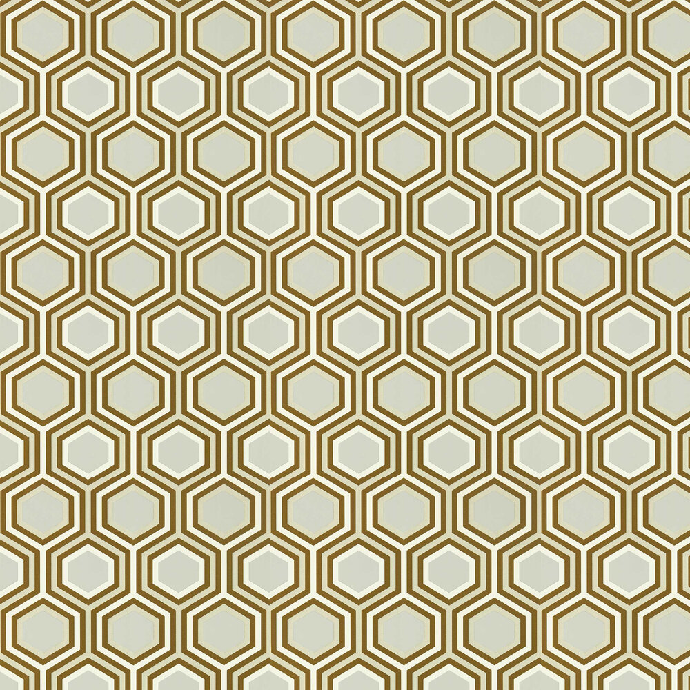 Selo Wallpaper - Gold and Platinum  - by Harlequin