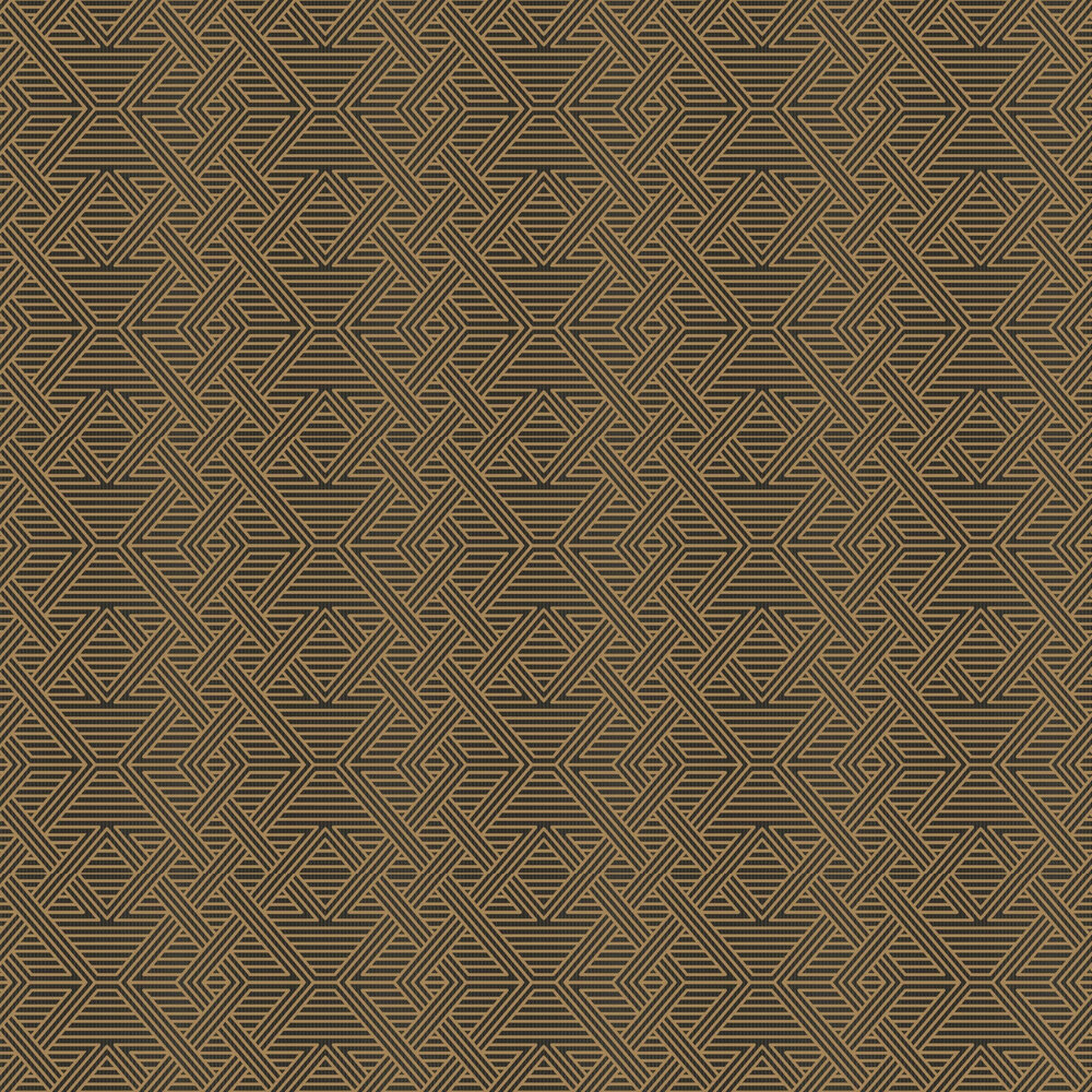 Skyline Wallpaper - Brown / Black - by Engblad & Co