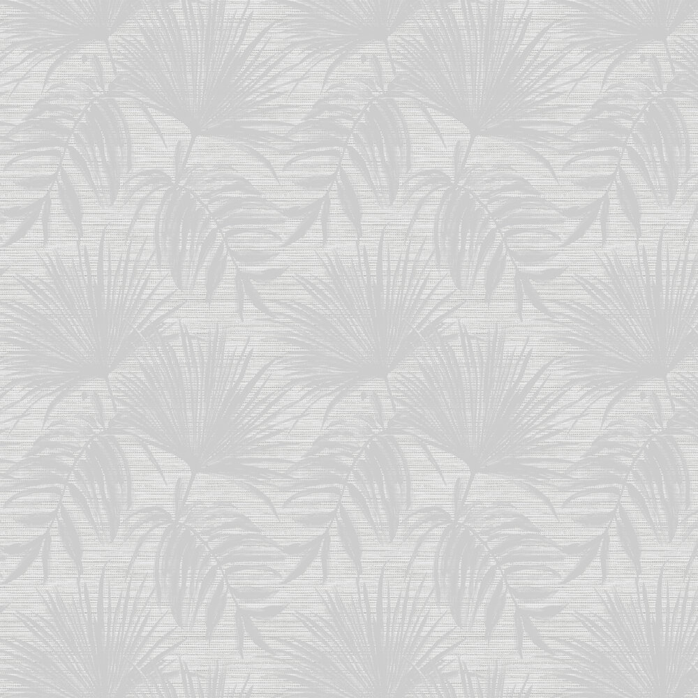 Bambara Leaf Wallpaper - Bambara Leaf Grey - by Albany