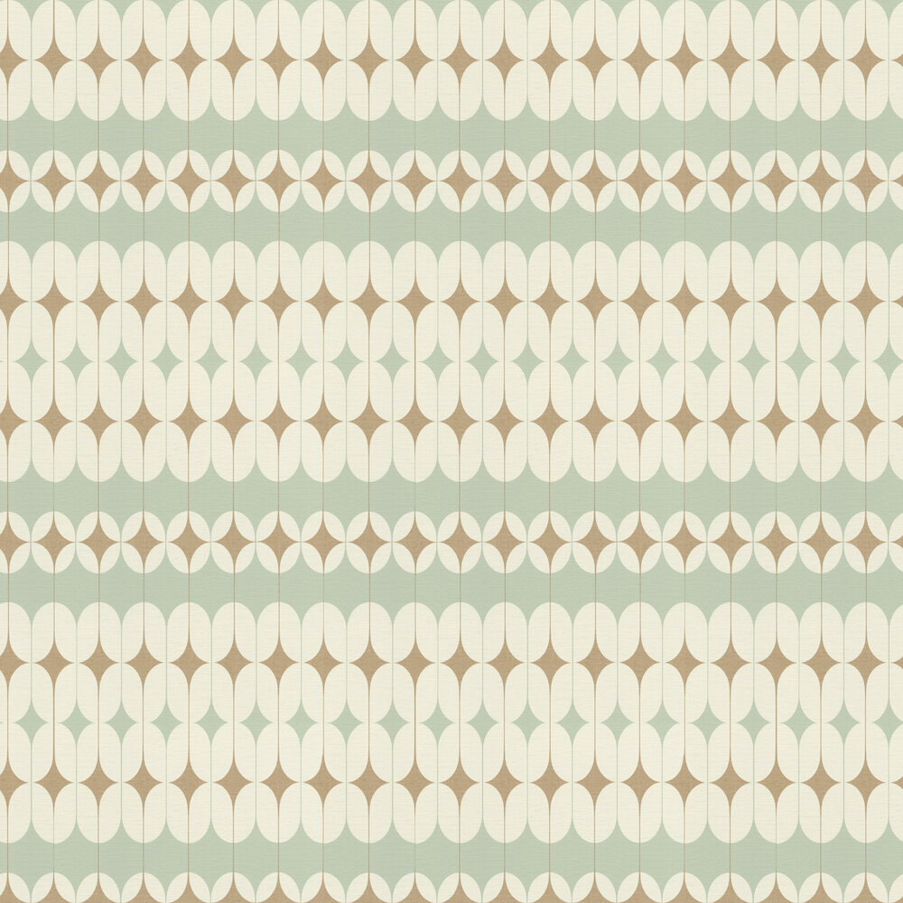 Albany Daisy Mint Green Wallpaper - Product code: 531121