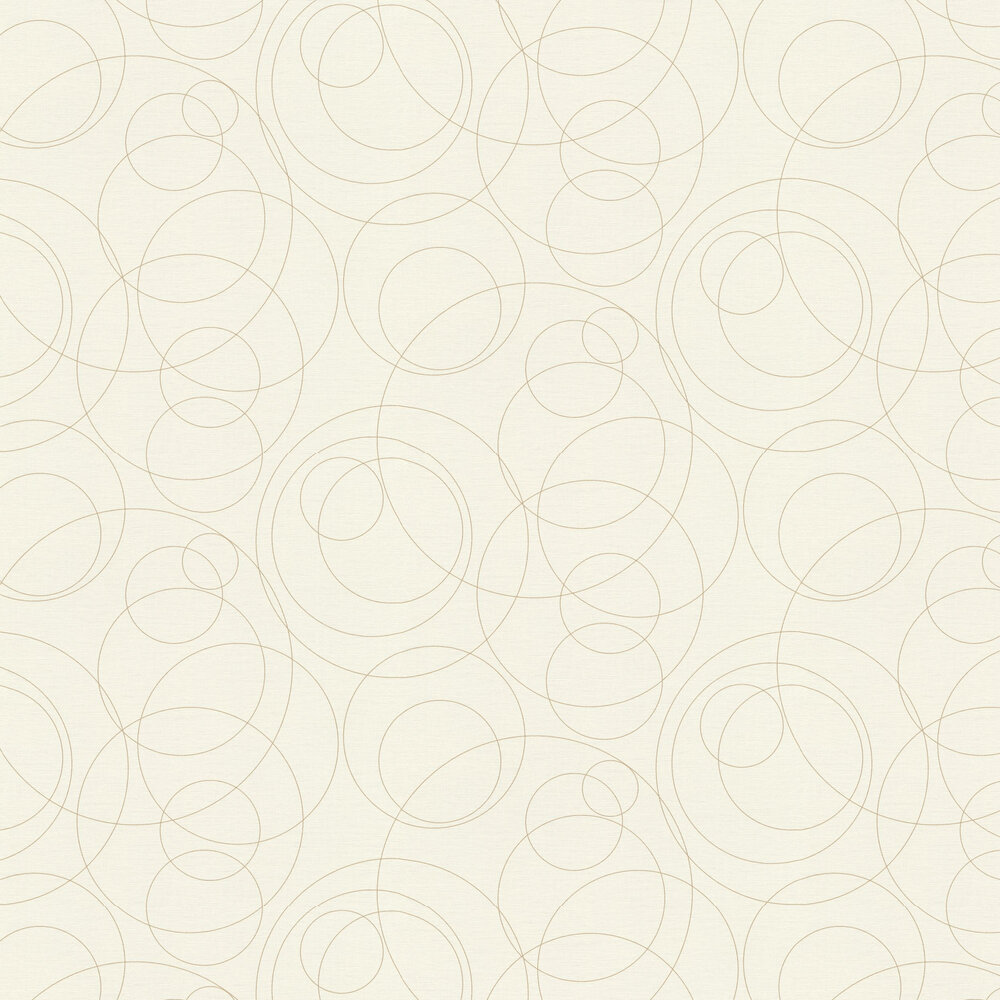 Orbit Wallpaper - Ivory - by Albany