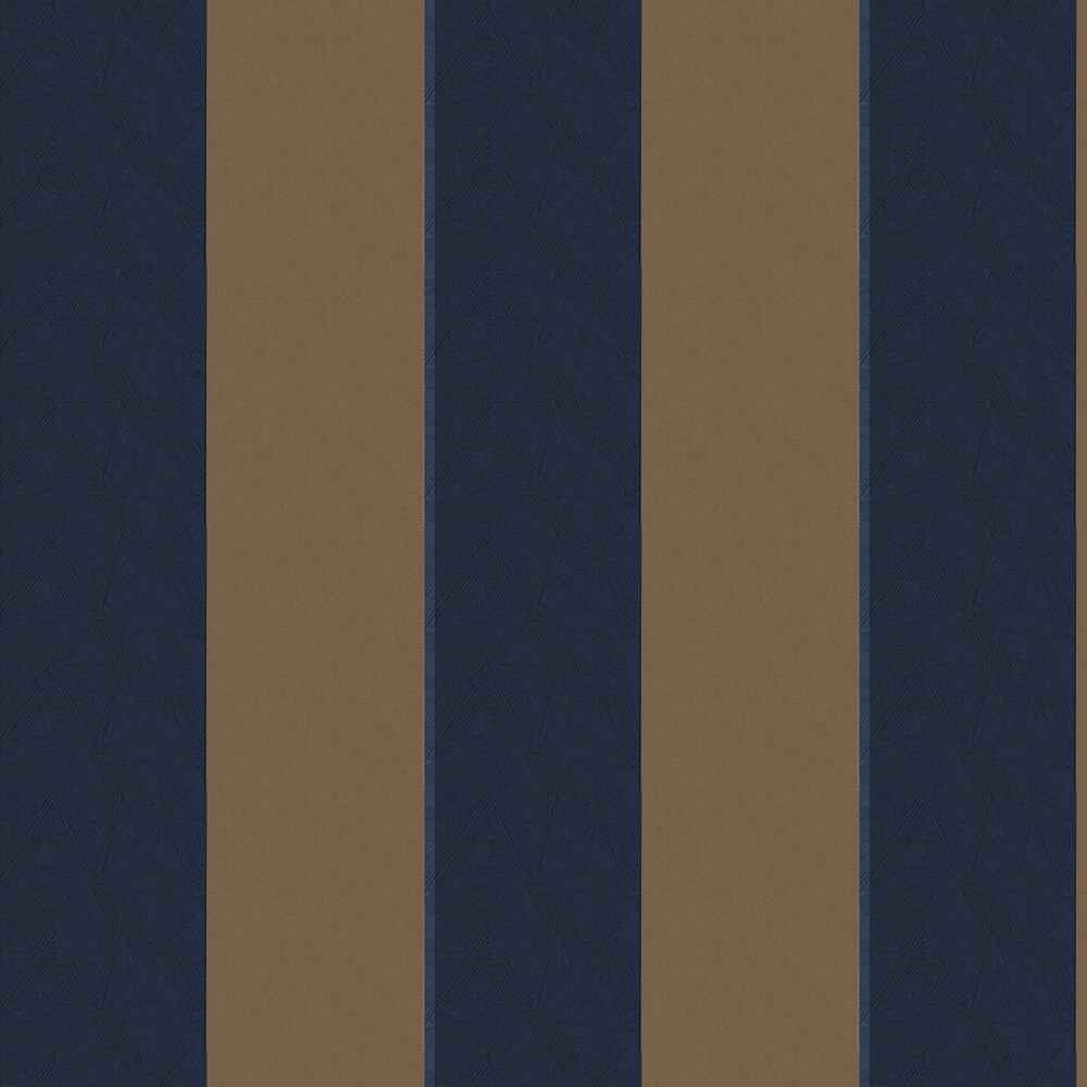 Galena Wallpaper - Galena Navy - by Albany