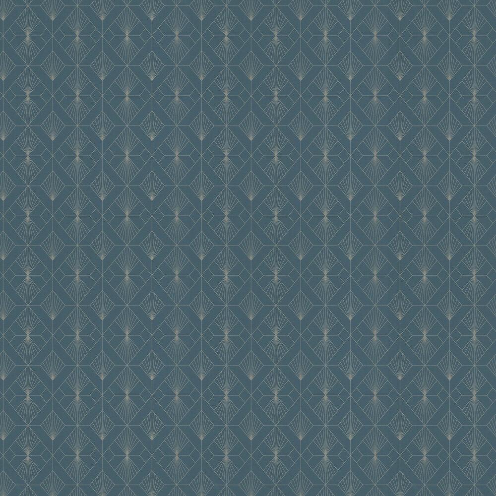 Scott Wallpaper - Blue - by Albany