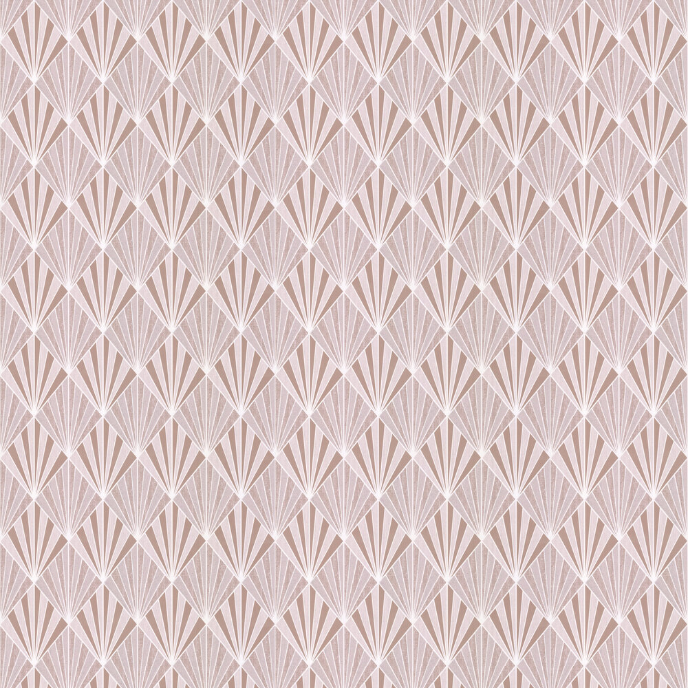 Albany Aster Rose Gold Wallpaper - Product code: 156102
