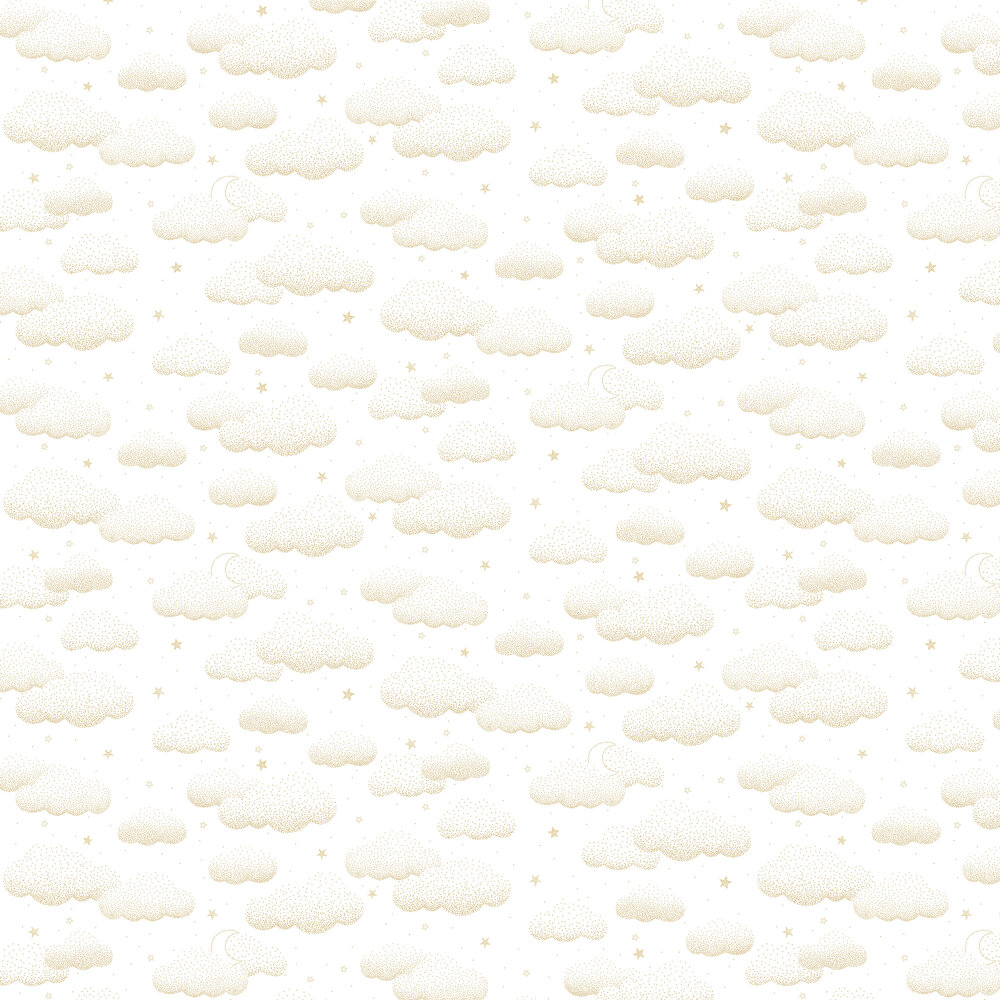 Lilipinso Clouds Gold Wallpaper - Product code: H0529
