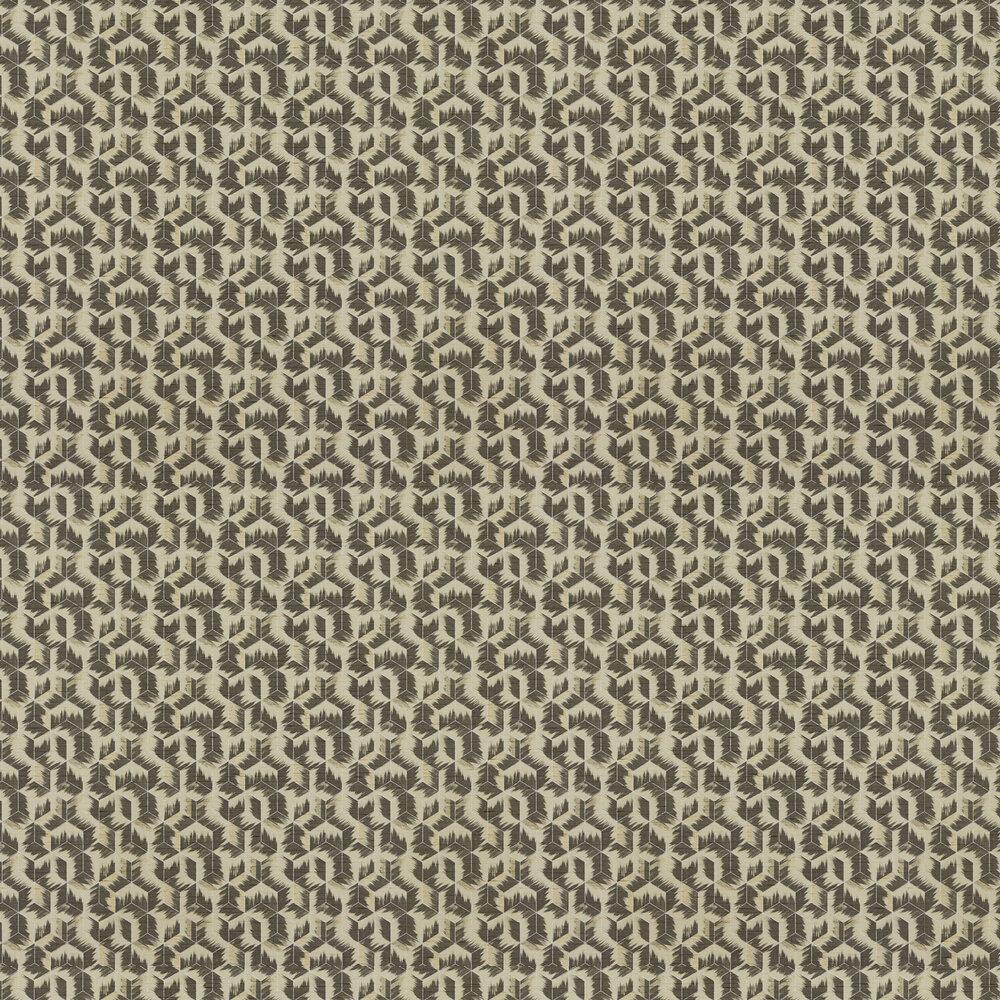 Zoffany Tumbling Blocks Stone Wallpaper - Product code: 312892