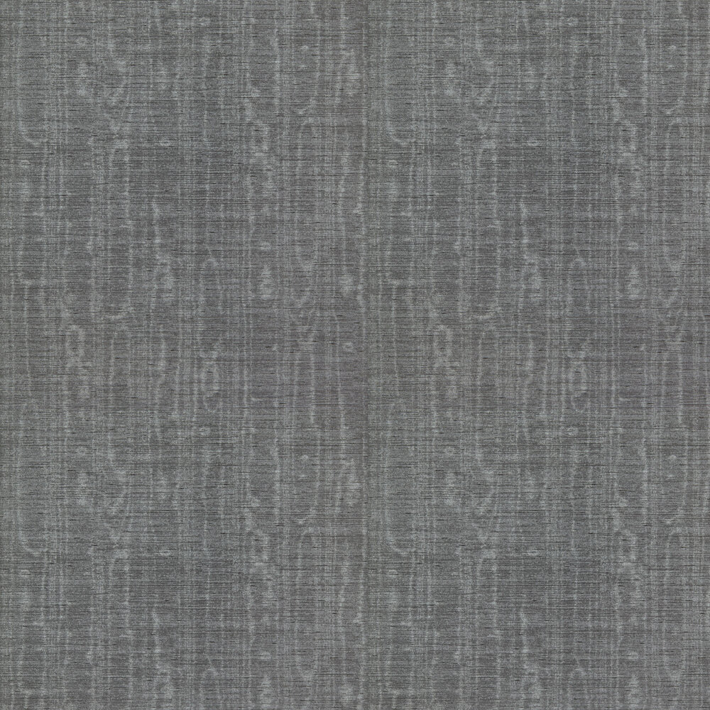 Zoffany Watered Silk Bone Black Wallpaper - Product code: 312911