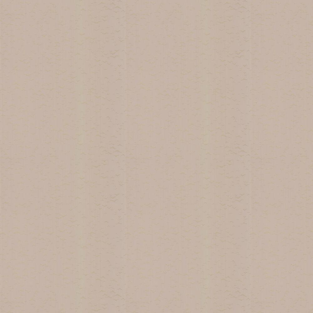 Yukutori  Wallpaper - Taupe / Gilver - by Farrow & Ball