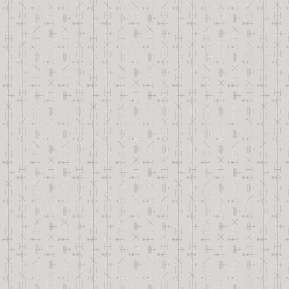 Transmission Wallpaper - Concrete - by Mini Moderns