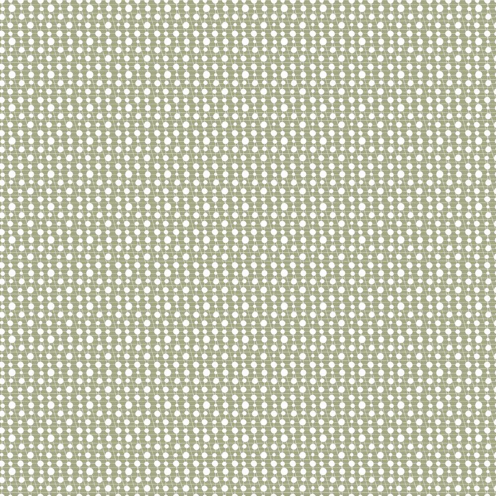 Pavilion Wallpaper - British Lichen - by Mini Moderns