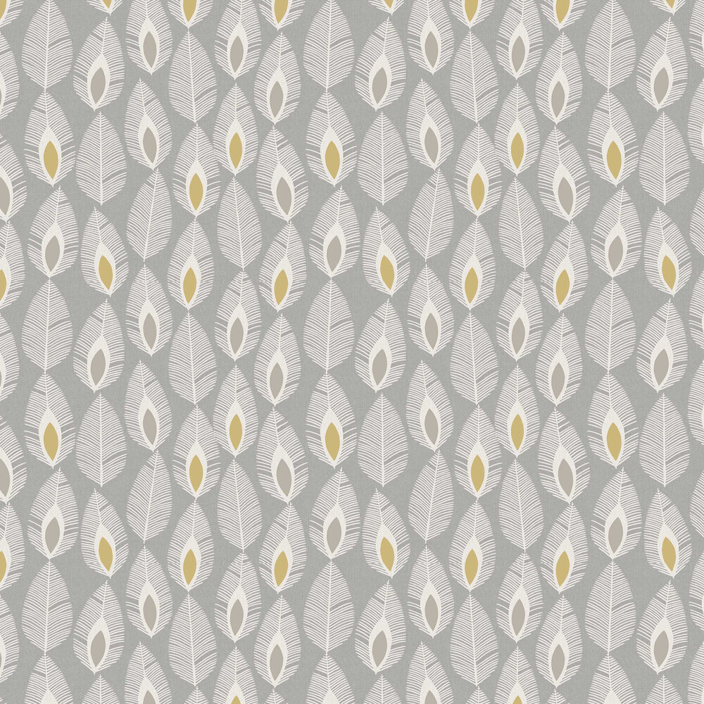 Arthouse Glam Feather Grey Wallpaper - Product code: 904503