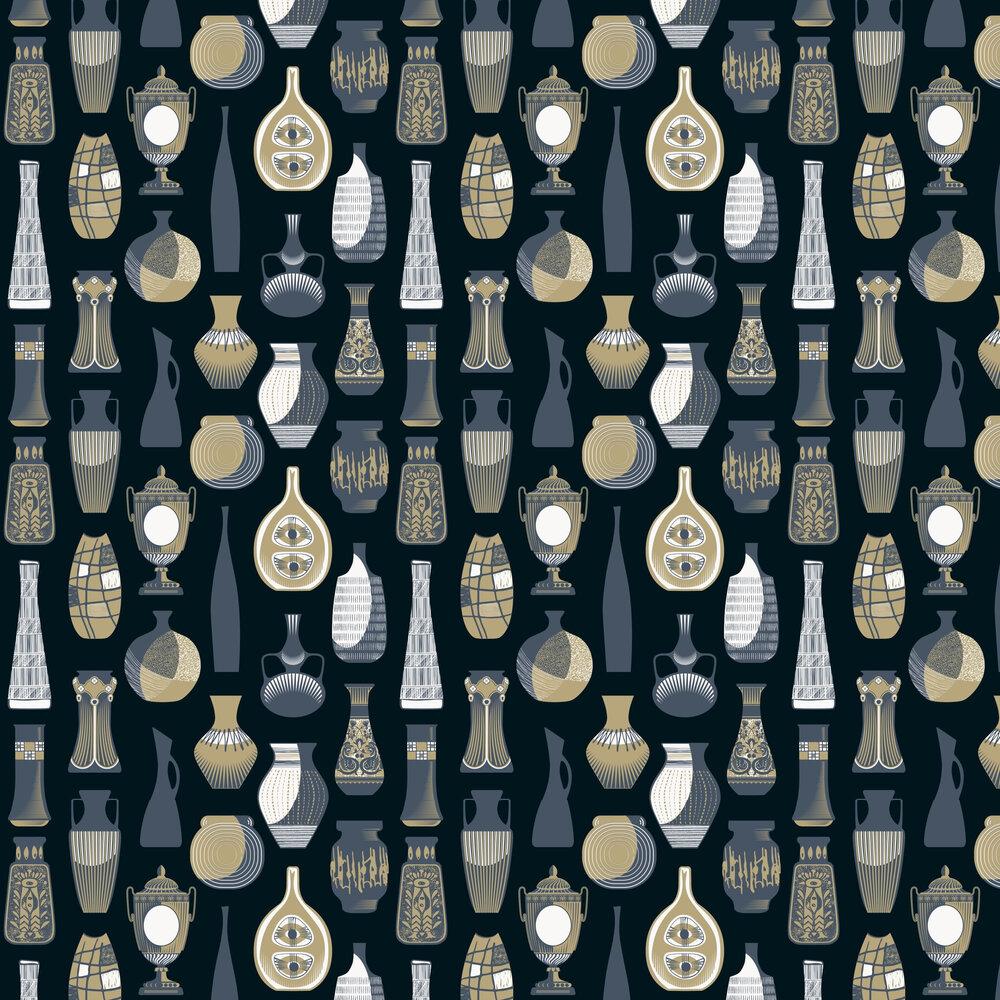Mini Moderns Vessel Midnight Wallpaper - Product code: AZDPT043MI