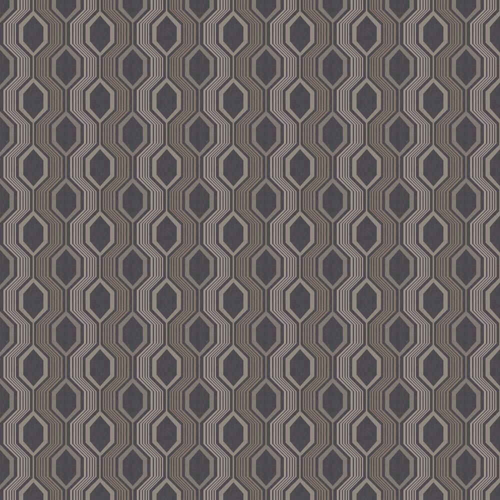 Arthouse Hexagon Charcoal Wallpaper - Product code: 904904
