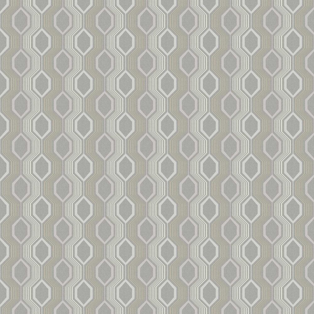Arthouse Hexagon Grey Wallpaper - Product code: 904907