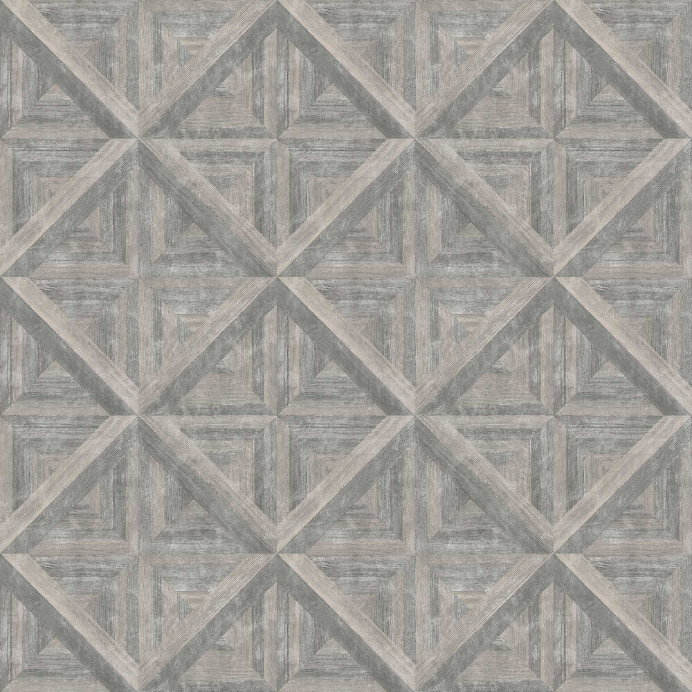 Albany Diamond Parquet Grey Wallpaper - Product code: 24018