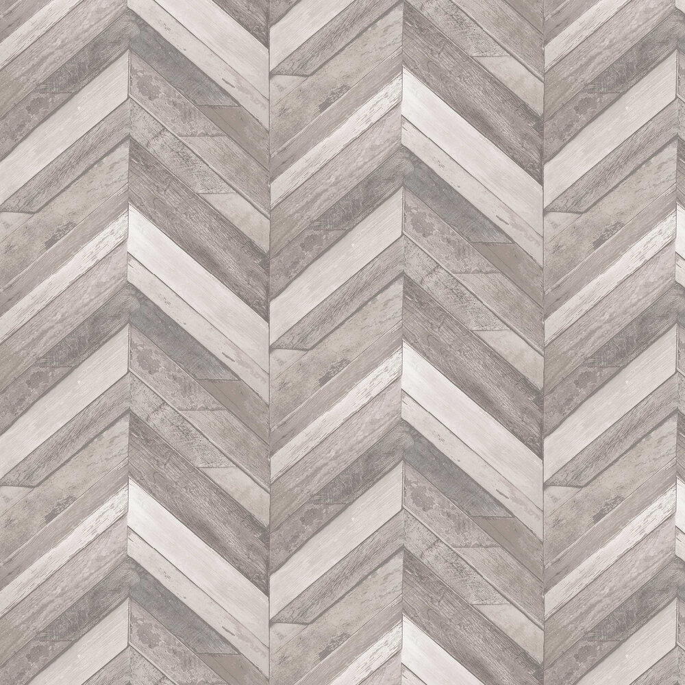 Nautical Zigzag Wallpaper - Neutral - by Albany